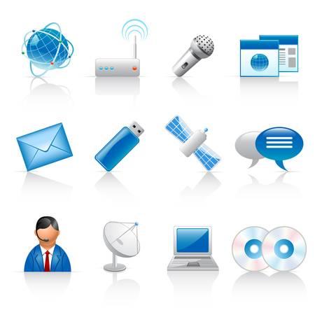 communicatie iconen