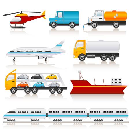 tank car: transport icons