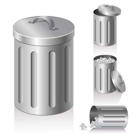 trashcan: trash can