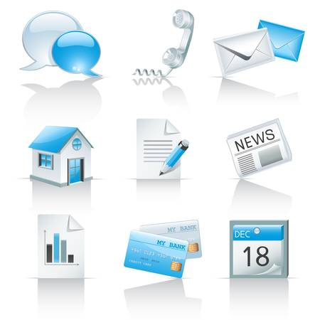 haushaltshilfe: Icons für Web-Sites