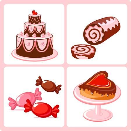 vanilla cake: sweets