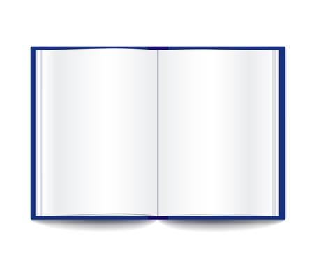 leeres buch: offenes Buch