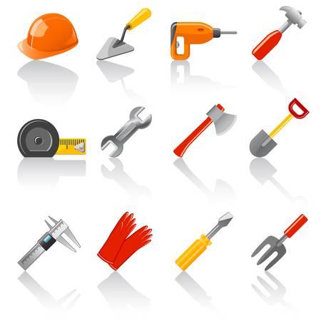 gereedschappen te stellen Stock Illustratie