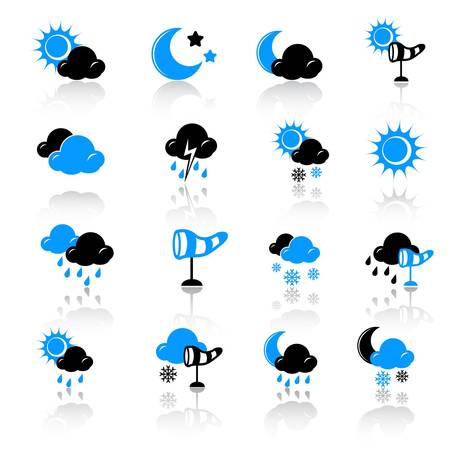 weather icons Stock Vector - 13074097