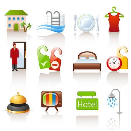 hotel iconen