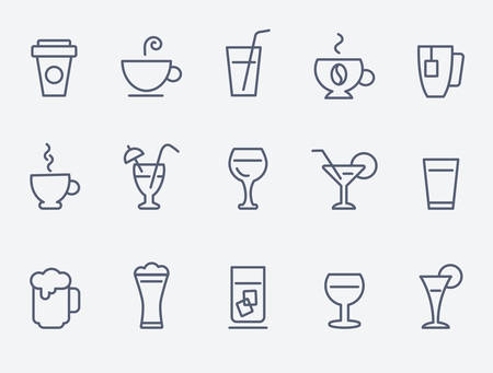 drinking: Coffee icons