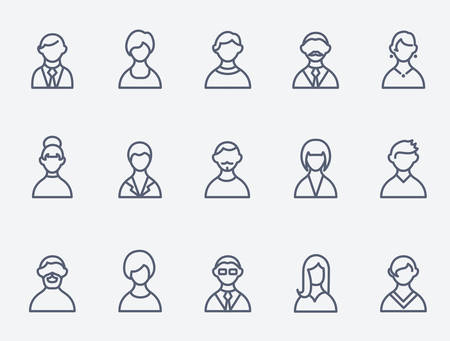 and people: Personas iconos