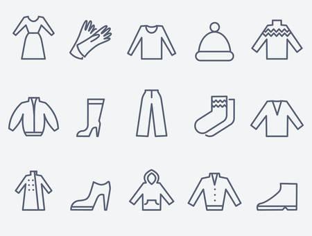 clothing: Clothing icons