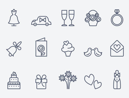 bells: wedding icons