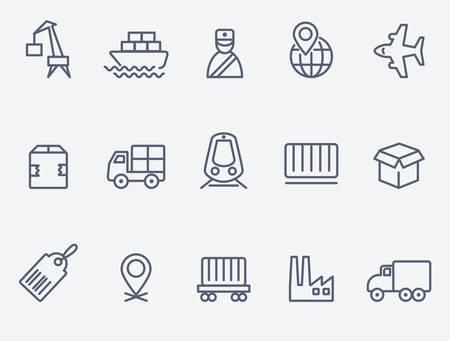 iconos de log?stica