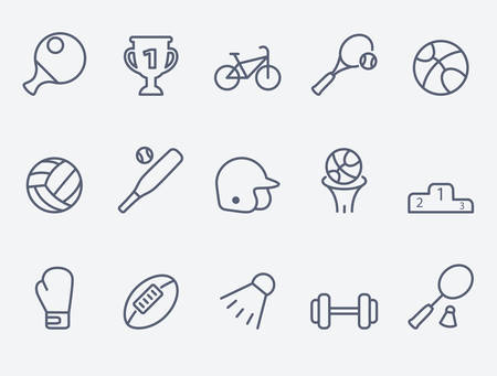 icono deportes: Iconos de deporte  Vectores