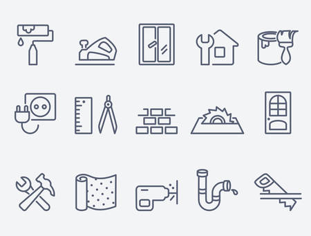 drill floor: Home repair icons