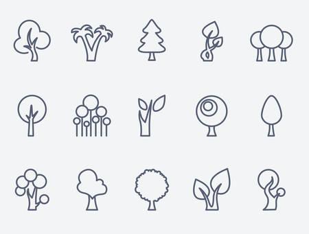 larch: Trees set