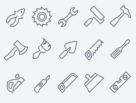 adjustable: tools set Illustration
