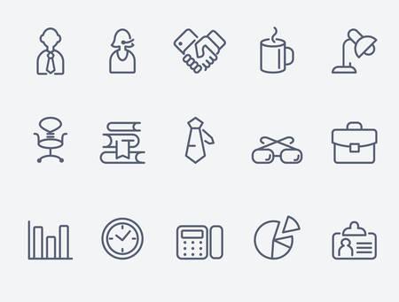 cadeira: ícones do escritório