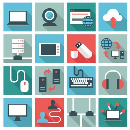 telecommunications technology: Network icons