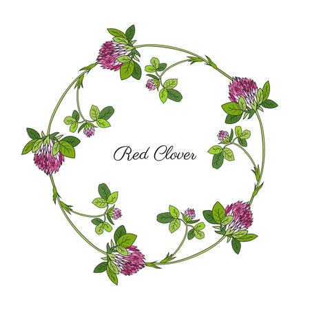 Floral design pattern. Illusztráció