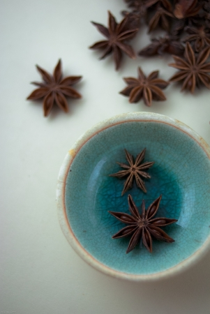 badiane: Anis ?toil? Spice Banque d'images