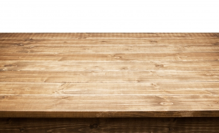 timbered: Empty wooden table top