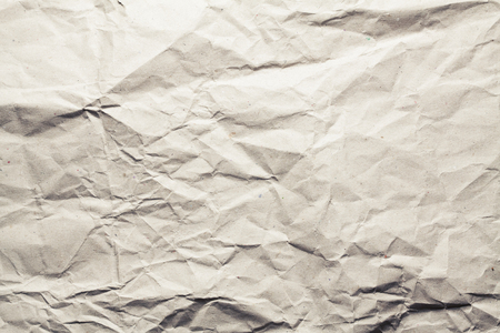 Crumpled paper texture. Recycled paper background