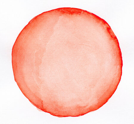 Watercolor circle shape background