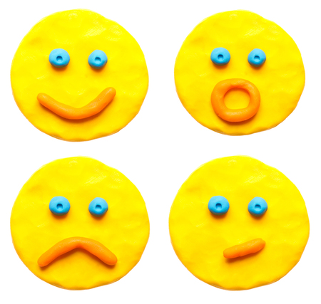 ambivalent: Set a plasticine face