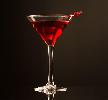 coctel de frutas: Bebida cóctel de arándanos Foto de archivo