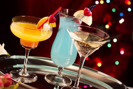 tropical cocktail: Tropical cocktails