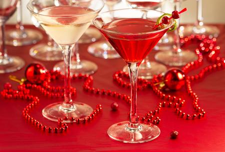 bar drinks: Cocktail drinks Stock Photo
