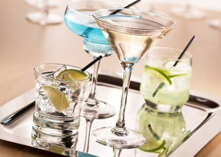 bleb: Coctails Stock Photo