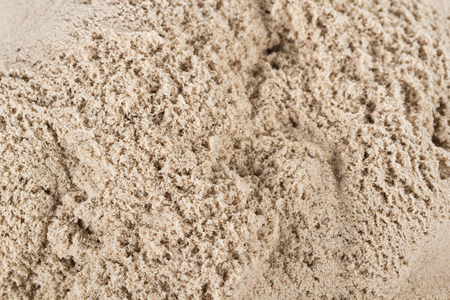 kinetic: Kinetic Sand Heap For Children Indoor Table Game And Creativity Close-up