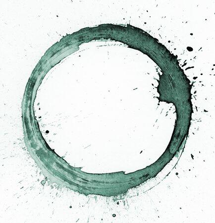 circle shape: Watercolor circle shape background