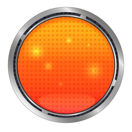submit: Vector Lava button, realism icon