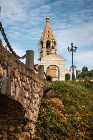 Church of the Nativity of the Virgin. Orthodox church. Gorodnya.