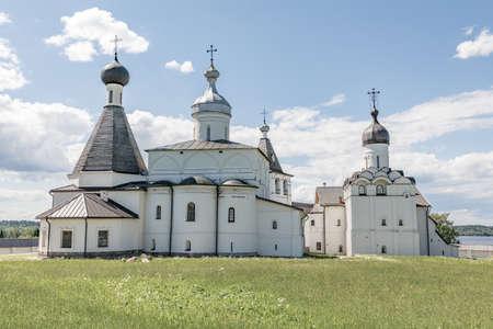 Ferapontov Belozersky monastery. Monastery of the Russian Orthodox Church. Russian landmark.  Ferapontovo. Kirillov district. Vologda Region. Russia