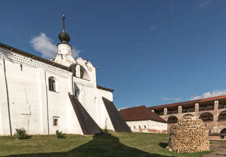 Kirillo-Belozersky monastery. Monastery of the Russian Orthodox Church, located within the city of Kirillov, Vologda region. Center of the spiritual life of the Russian North.
