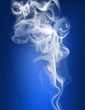 White smog Stock Photo