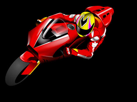 motorcycle race