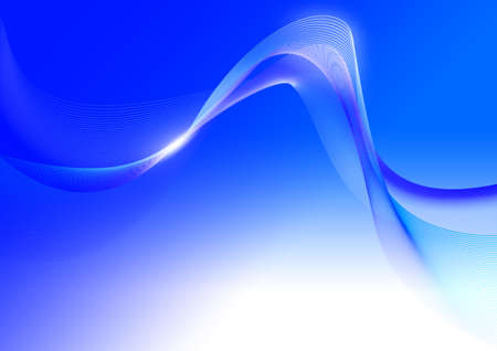 ambiguity: abstract Blue lines background