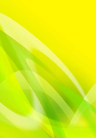 ambiguity: abstract Green and yellow background