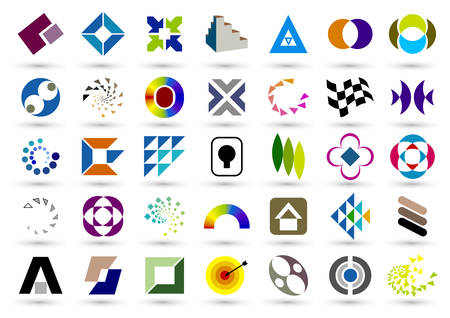 discriminate: Set of abstract elements for design