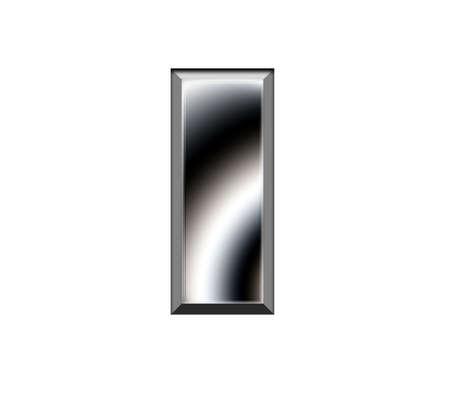 Metal alphabet symbol-I