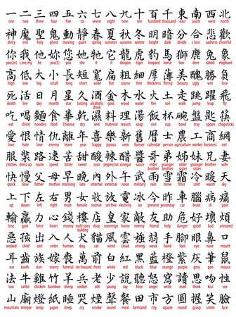 많은 중국어 번역 포함
