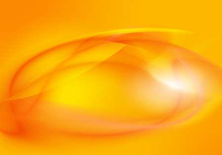 ambiguity: Abstract orange background