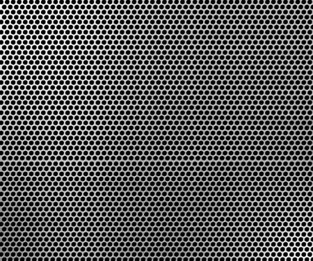 pattern of metal background Stock Photo