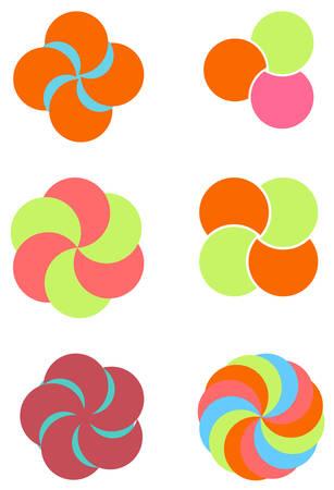 Logo element circle Stock Vector - 6317377