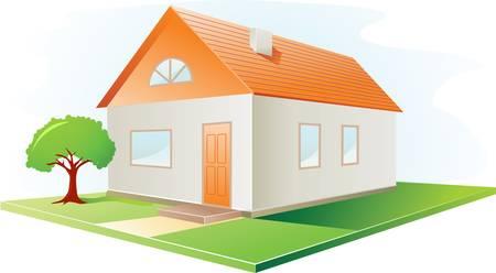 vector house Stock Vector - 7871590