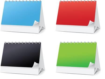 set blanks for Desktop calendars Stock Vector - 7871601