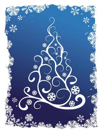 arbre de Noël abstraite vecteur arrière-plan illustration coloré images clipart