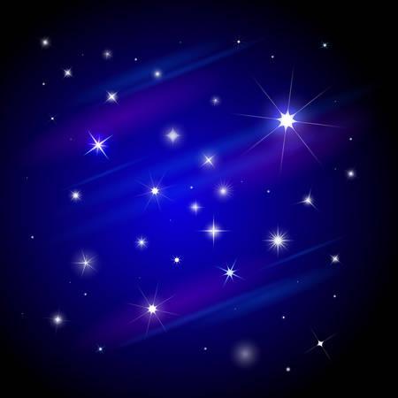astral: the set of stars Illustration